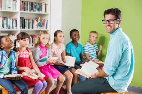 låta eleverna ha en röst: elever med lärare