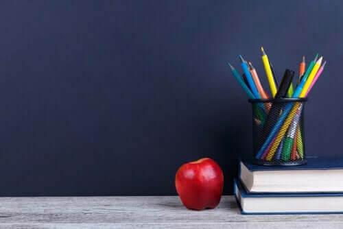Akademisk klassrumshörna för att berika läroplanen
