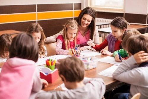 berikning i klassrummet: lärare och elever