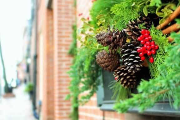 6 tips för att dekorera utomhus till jul