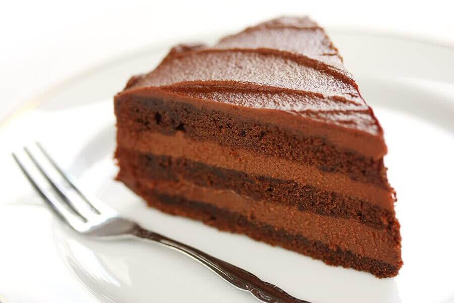 tårtrecept för barn: chokladtårta