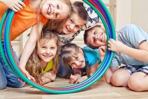 Lekcenter är platser för barn att växa