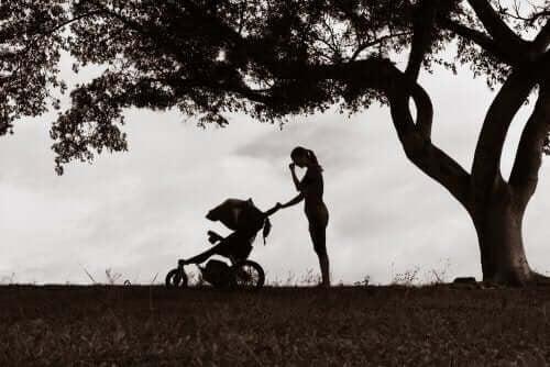 Effekterna av att mamman är deprimerad på barn