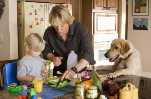 Filmer som lär barn om kärlek till djur
