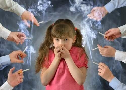 Varning: Effekterna av tobak på barn