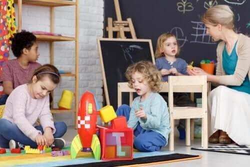 Lekar för att utveckla färdigheter hos barn