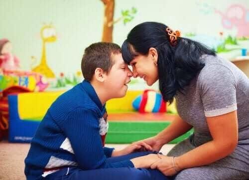 Barn med särskilda behov och deras familjer