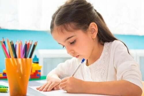 Lär barn att rita diagram för att lära sig saker