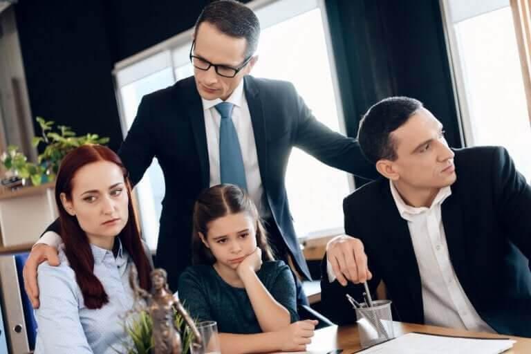 familjerättsadvokat med familj