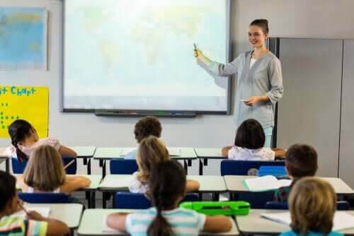 förståelsen i klassrummet: lärare och elever i klassrum