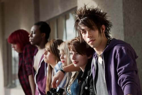 Subkulturer för ungdomar: punkare