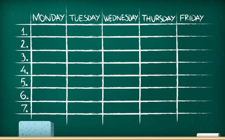 organisera en bra studieplan: studieplan