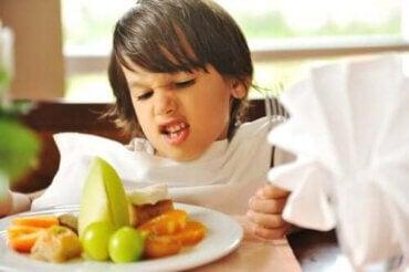 Selektiv ätstörning hos små barn