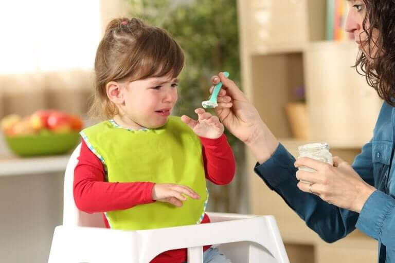 selektiv ätstörning: barn vill inte bli matat