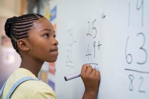 Matematisk intelligens hos barn