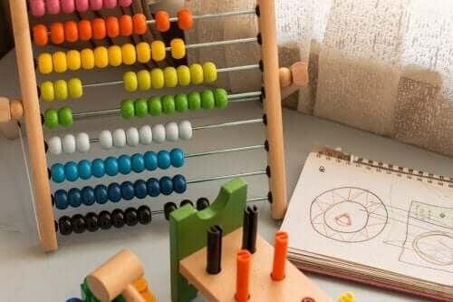matematisk intelligens: kulram och räkneleksaker