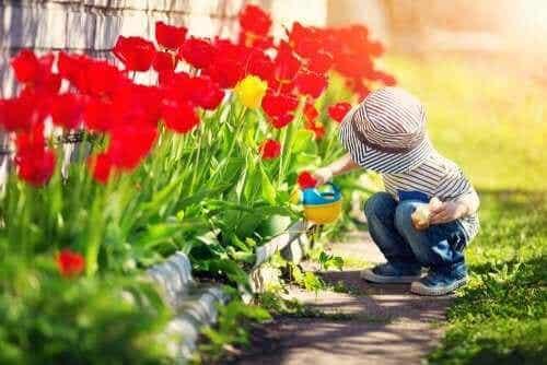 Bra barnböcker om trädgårdar