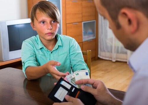 Hur man hindrar barn från att spela om pengar