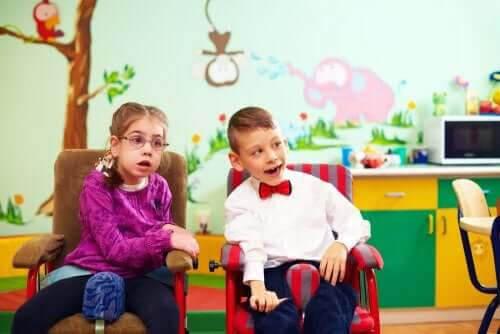 barn med särskilda behov