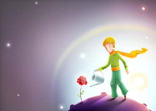 10 fraser fulla av visdom från Lille prinsen