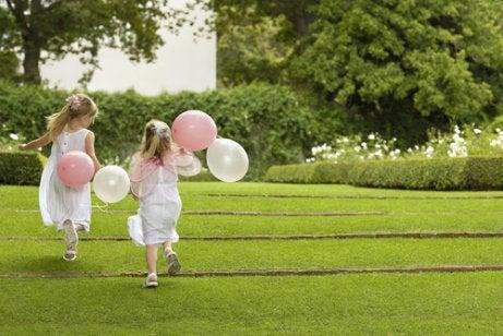 Bröllopsfotografering med barn.