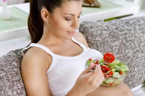 Livsmedel som innehåller folsyra