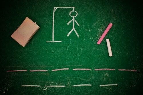 aktiviteter för barn med dyslexi: hänga gubbe