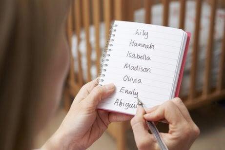 Tips för att välja ett namn till ditt barn