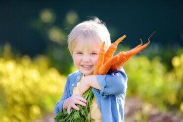 Vegansk kost: Rekommenderas det för barn?
