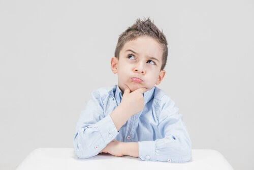 filosofi för barn: barn tänker