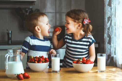 Fruktkakor för barn