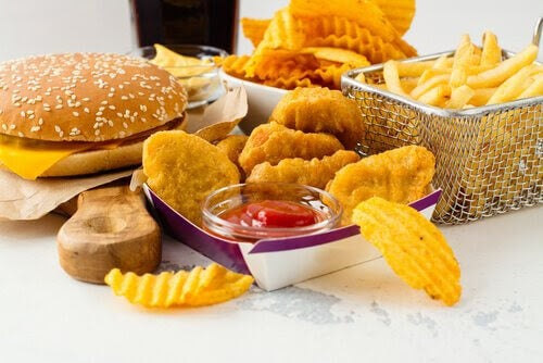 Friterad mat