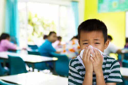 7 smittsamma sjukdomar bland barn i skolåldern