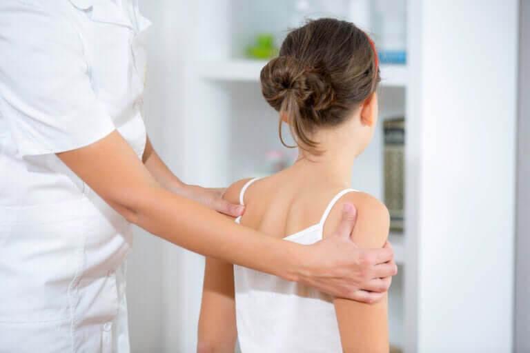 läkarundersökningar på tonåring