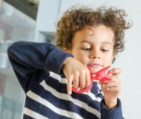 Pyssel för barn i åldern 5 till 7 år