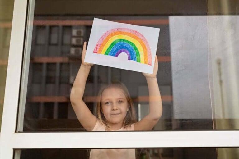 Barns förmåga att anpassa sig i karantän