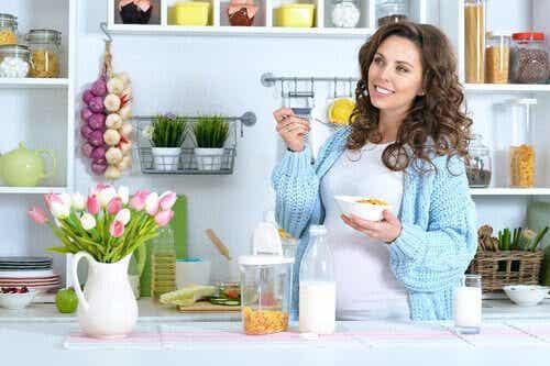 Skedvänligt recept för graviditetens andra trimester