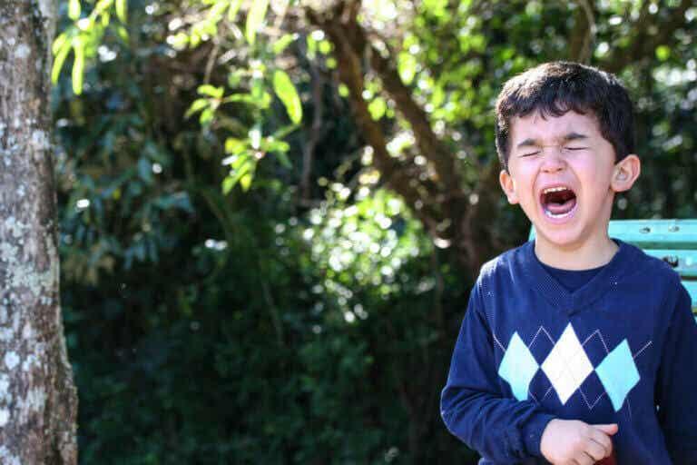 Tecken på att ditt barn är på väg att få ett raseriutbrott