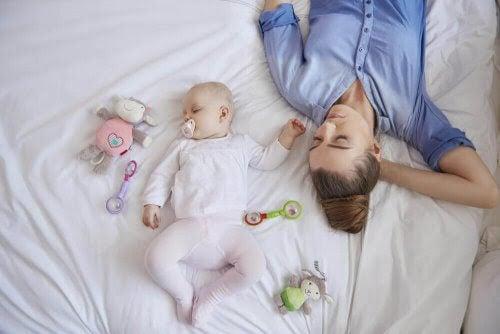 En nybliven mammas sömn