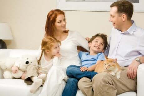 Betydelsen av språket man använder med sin familj