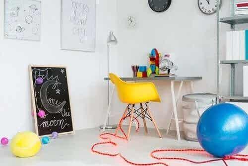 Fyra sätt att organisera barnens lekrum