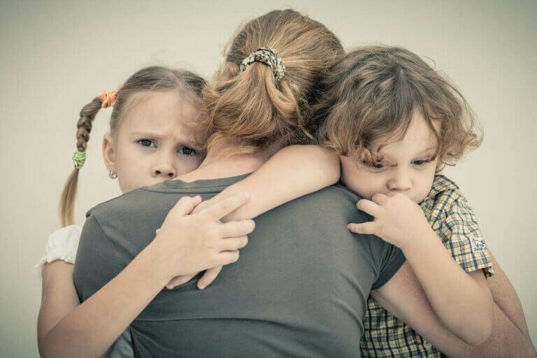 Så hindrar du att din ångest påverkar dina barn