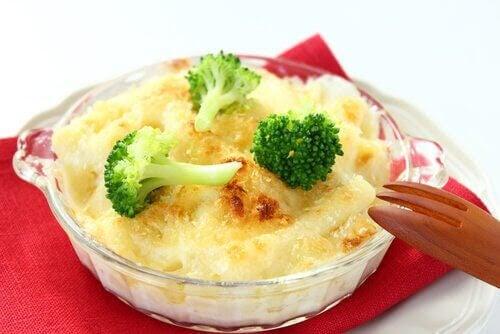 kolhydratrika recept: gratäng