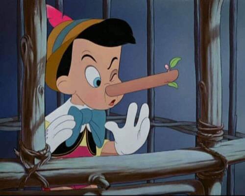 barn ljuger för dig: Pinocchio