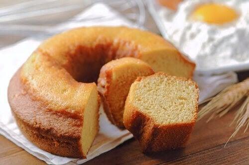 recept för diabetiker: sockerkaka