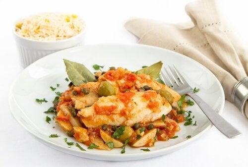 recept för diabetiker i första trimestern: fiskrätt