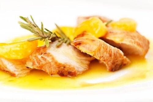 laktosfria recept för graviditetens andra trimester: kyckling