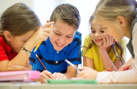 Fonologisk medvetenhet: barn skriver