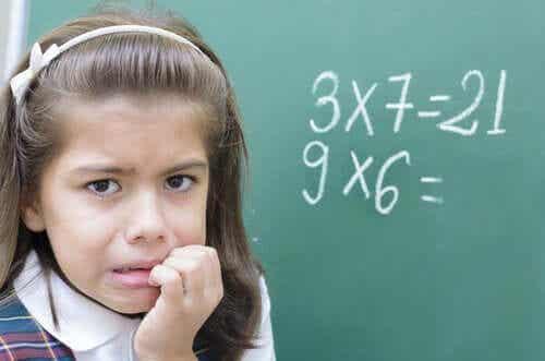 Matematikångest hos barn