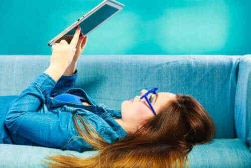 Barnböcker på e-boksplattformar